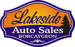 Lakeside Auto Sales Bobcaygeon Ontario - Specializing in One-Owner Vehicles