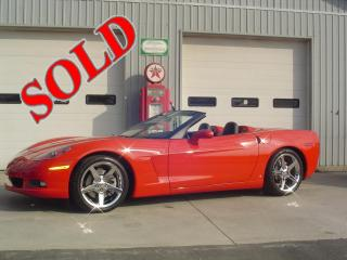 2006 CHEVROLET C6 CORVETTE CONVERTIBLE 3LT