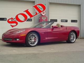 2008 CHEVY CORVETTE 3LT CONVERTIBLE