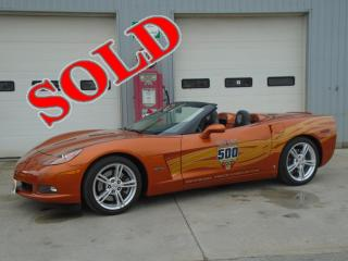 2007 CHEVROLET CORVETTE INDY 500 PACE CAR