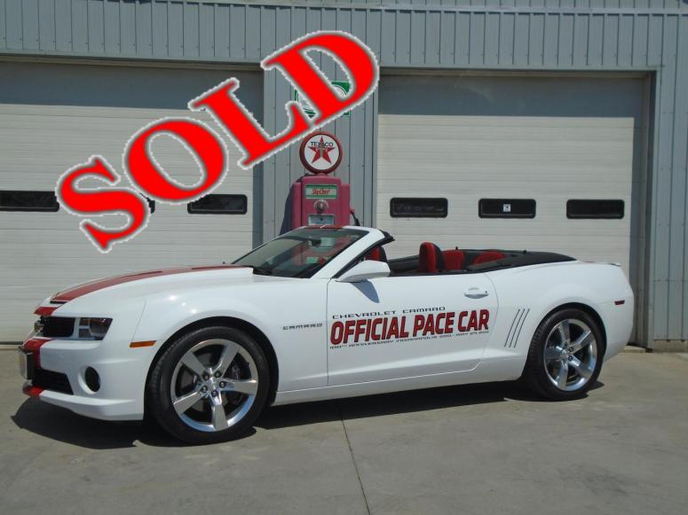 2011 CHEVROLET CAMARO CONVERTIBLE 2SS PACE CAR