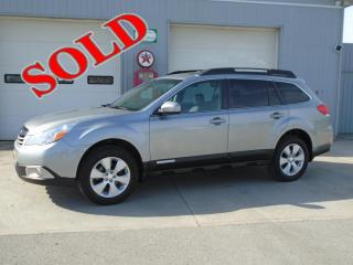 2011 SUBARU OUTBACK 2.5 LIMITED