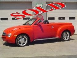 2003 CHEVROLET SSR CONVERTIBLE