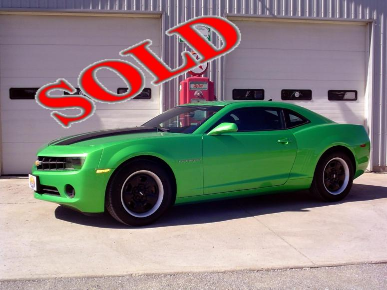 2011 CHEVROLET CAMARO - SYNERGY GREEN