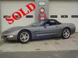 2003 CHEY CORVETTE CONVERTIBLE