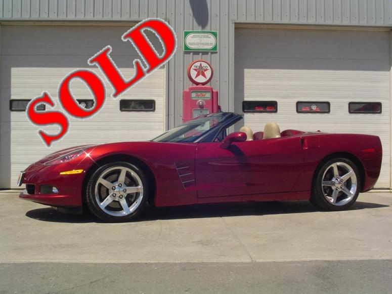 2005 CHEVROLET 3LT CONVERTIBLE CORVETTE